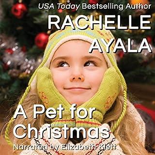 A Pet for Christmas audiobook cover art