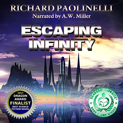 Escaping Infinity audiobook cover art