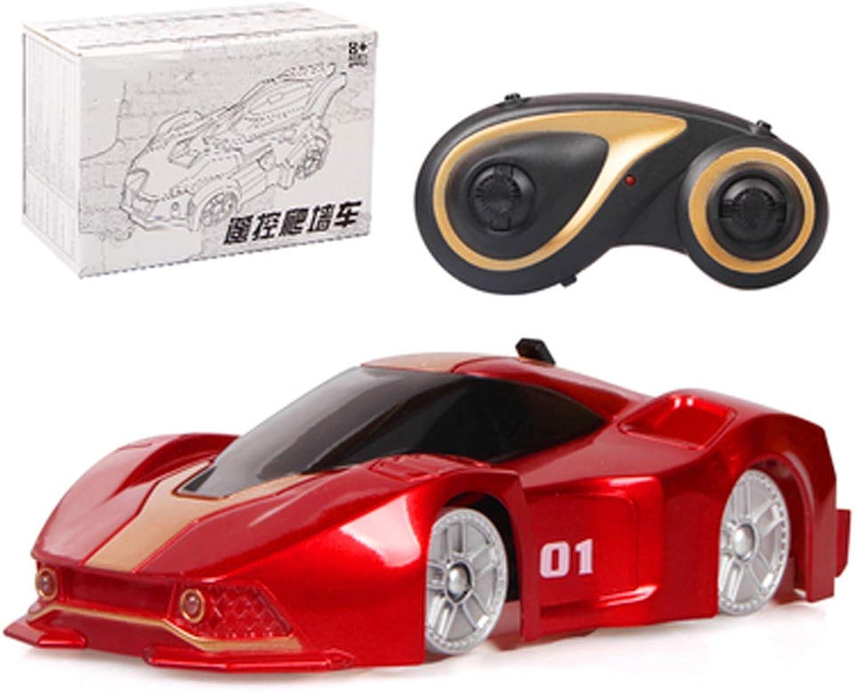 Mountainbike Fernbedienung Auto Spielzeug, Auto Stunt Racing, Lade drahtlose Fernbedienung elektrische Saugwand Rennwagen  Kinder Racing 410 Jahre alten Toy Boy (color   B)
