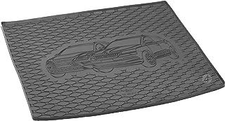 Passgenau Kofferraumwanne geeignet für Seat Ateca 4x4 ab 2016 ideal angepasst schwarz Kofferraummatte + Gurtschoner