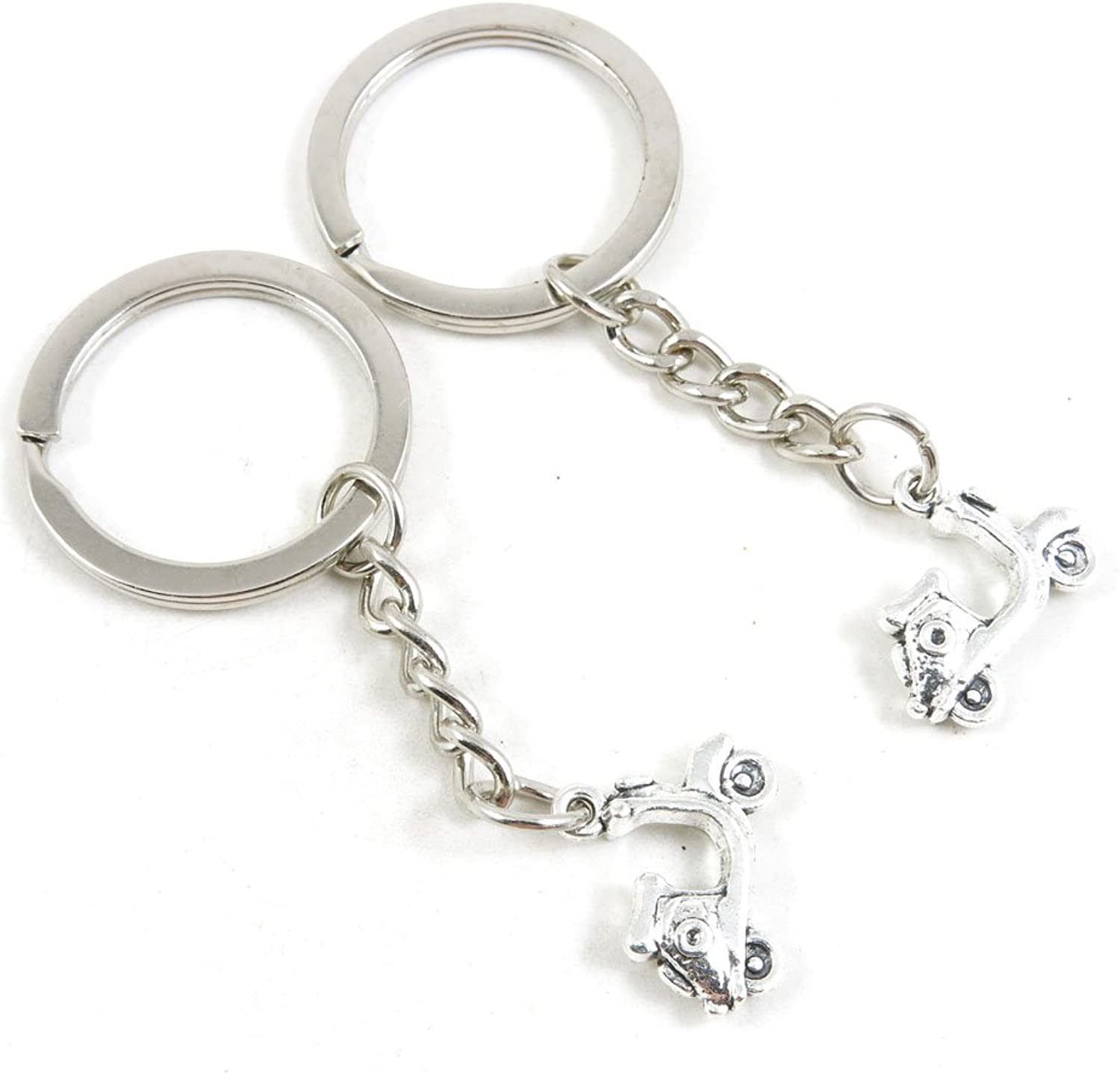 220 Pieces Fashion Jewelry Keyring Keychain Door Car Key Tag Ring Chain Supplier Supply Wholesale Bulk Lots E3GN8 Lady Motorbike Motorcycle