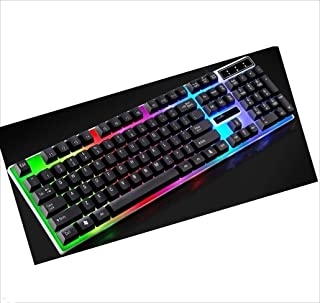 Network peripheral supplies ZGB G21 104 Keys USB Wired Mechanical Colorful Backlight Office Computer Keyboard Gaming Keybo...