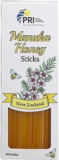 Pacific Resources Proper, Manuka Honey Sticks, (10 Count) MGO 60+