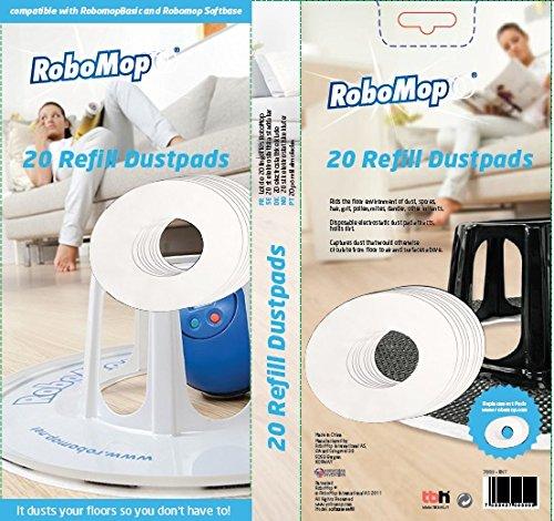 Cloths Robomop Softbase Dustcloths 20Pieces