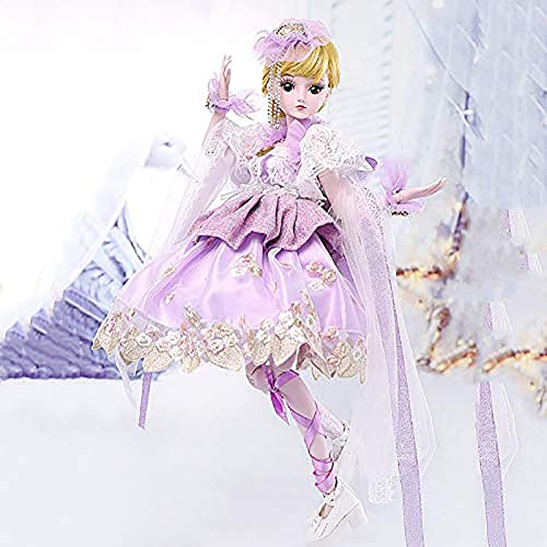 ZNDDB Poupée réaliste - Ensemble Cadeau poupée Robeup, Jouets pour Enfants de 3 Ans, 60 cm   23,6 Pouces