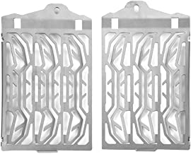 Aramox Motorcycle Radiator Guard Protector, Radiator Grille Guard Cover 2 pcs Motorcycle Radiator Water Tank Protection Cover Grill Fitment for R1200GS LC ADV 2013-2016