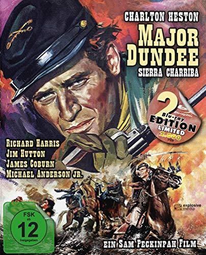 Major Dundee - Sierra Charriba (Major Dundee) (Mediabook, 2 Blu-rays)