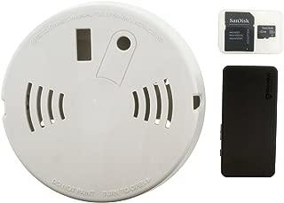 Brickhouse Security CAM-Micro Camscura Micro 720P HD Hidden Camera, Smoke Detector Enclosure Kit (32gb Enclosure Kit)