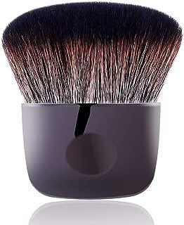 Flat Powder Makeup Brush Perfect for Buffing Blush Highlighting Contour Setting Loose Powder Blending Bronzer Face Body Kabuki Brush Cosmetic Tool