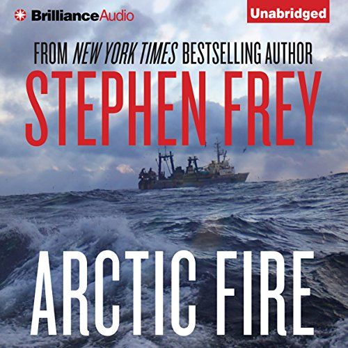 Arctic Fire audiobook cover art