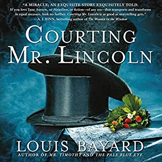 Courting Mr. Lincoln audiobook cover art
