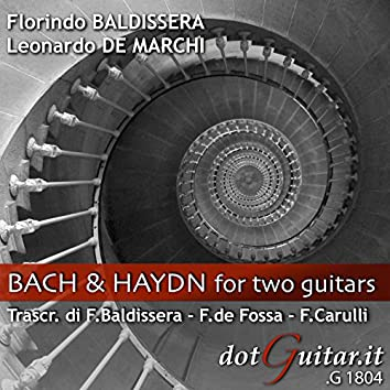Bach and Haydn for Two Guitars