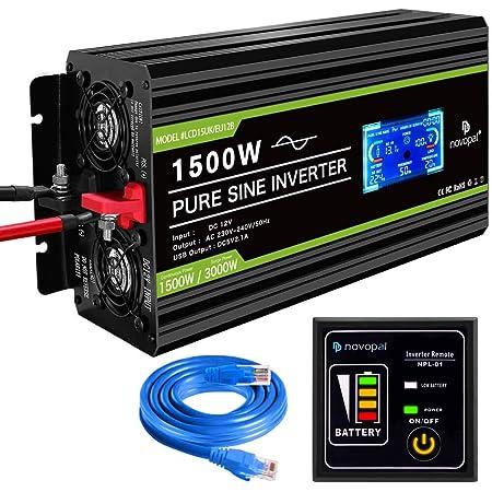 Novopal Spannungswandler12v Auf 230v 3000w Elektronik