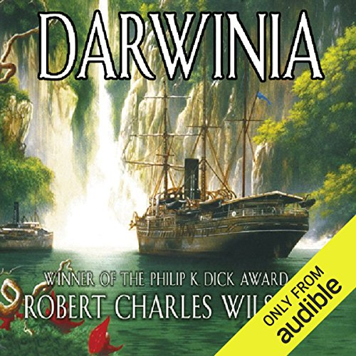 Darwinia  audiobook cover art