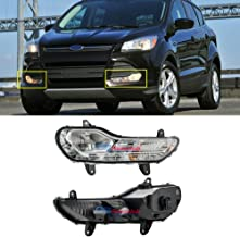 For Ford Escape 2013-2016 Clear Lens Bumper Fog Light Lamp Replacement (US Shipment)