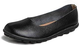 Vrouwen Flats Plus Size Eenvoudige Stijl Ronde Neus Loafers Schoenen Slip Op Mocassins Verpleegkundige Vrouwelijke Antisli...