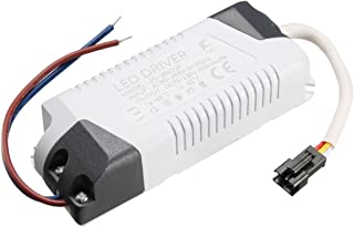 uxcell LED Driver 25-36W Constant Current 300mA High Power AC 85-265V Output 75-135V External Power Supply LED Ceiling Lamp Rectifier Transformer