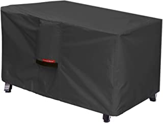 Porch Shield Patio Fire Pit Cover - Waterproof 600D Outdoor Rectangular Fire Table Cover Deck Box Protector - 48 x 28 inch