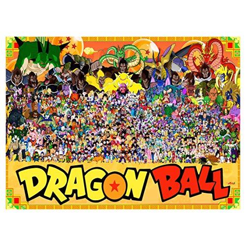 Rompecabezas de madera por Dragon Ball