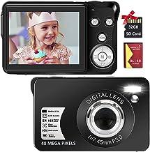 Digital Camera, 2.7K 48MP HD Camera Compact Camera Mini...