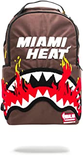 Sprayground NBA Lab Miami Fire Shark Backpack Unisex