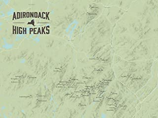 Best adirondack 46 peaks poster Reviews