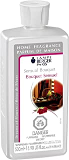 Sensual Bouquet   Lampe Berger Fragrance Refill by Maison Berger   for Home Fragrance Oil Diffuser   Purifying and perfuming Your Home   16.9 Fluid Ounces - 500 millimeters   Made in France