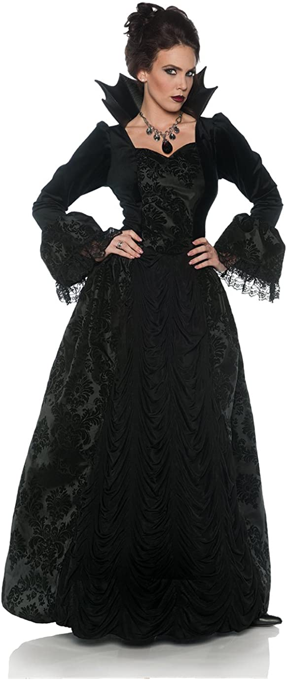 UNDERWRAPS Women's Gothic Storybook Gown Spring new work one after another Queen Evil Ranking TOP4 Ball