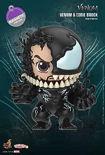 Hot Toys Cosbaby Venom Eddie Brock Magnetic Function Version Spider Man Bobble Head Figure Desktop COSB626