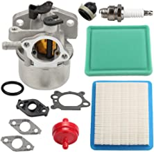Butom 799866 Carburetor for Briggs & Stratton 794304 796707 790845 799871 Toro John Deere Craftsman Lawn Mower w/ 491588S Air Fuel Filter Primer Bulb Gasket