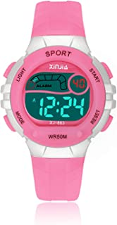 Kids Digital Watch, Child Girls Boys Waterproof Multi-Functional WristWatches for Kid