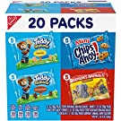 Nabisco Variety Fun Shapes Assorted Barnum's Animal Crackers, Teddy Grahams and Chips Ahoy! Mini, 1 Oz, 20 Count