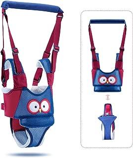 BENELET Baby Walking Harness,Learn Walking Helper, Adjustable Safety Assistant,Handheld Walker Leash for Boy or Girl Babies,Breathable Walking Aid for Toddler 7-24 Month
