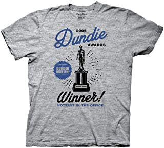 Ripple Junction The Office Adult Unisex 2005 Dundie Awards Light Weight Crew T-Shirt