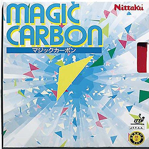 NITTAKU Belag Magic Carbon Optionen 1,3 mm, rot