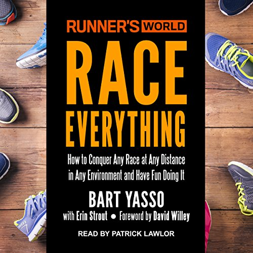 Runner's World Race Everything audiobook cover art