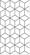 Special/Simple Wallpaper Black and White Grid Geometric Bedroom Living Room Wallpaper 53 * 1000cm HB007-9 (Color : Hb0079,...