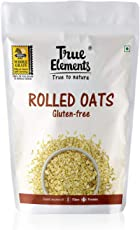 True Elements Rolled Oats 1kg - Gluten Free Oats, High in Fibre and Protein