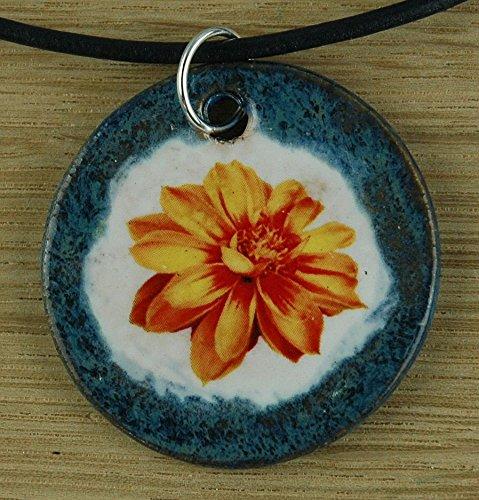 Echtes Kunsthandwerk: Toller Keramik Anhänger