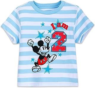 Disney Mickey Mouse Birthday Tee for Boys