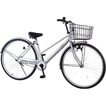 C.Dream(シードリーム) アクアシティ AA71 27インチ自転車 シティサイクル シルバー 100%組立済み発送