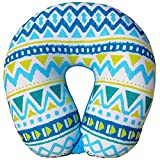 Bookishbunny Micro Beads Travel Pillow W U Shaped Neck Pillow for Kids Travel