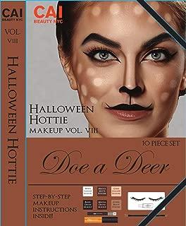 doe makeup for halloween
