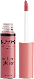 NYX Professional Makeup Butter Gloss, Angel Food Cake, 0.27 Ounce