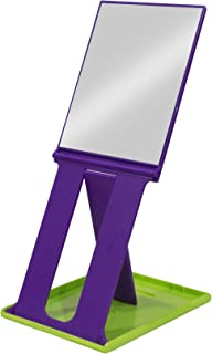 Baal Foldable Makeup Mirror Shaving Mirror for Bathroom Makeup Mirror for Travel Pack of 1