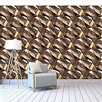 写真の壁紙3D立体空間カスタム大規模な壁紙の壁紙 抽象的な木目リビングルーム現代リビングルームのテレビの背景寝室家の装飾壁画 -400X280cm(157 * 110インチ)
