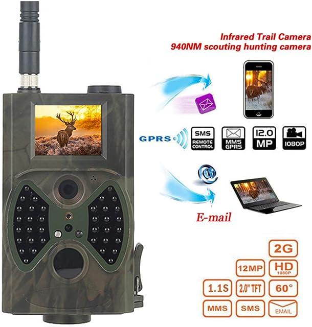 SEXTT Cámara de 12MP 1080P Vida Silvestre Caza de la cámara 2G MMS Hilos Celular Camino de Vida Silvestre de la visión Nocturna Cámaras de vigilancia Cámaras de Seguimiento Salvajes