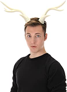 Festival Light-Up Deer Antlers White Horns