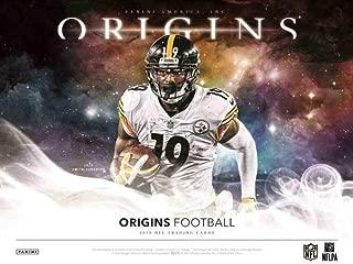 Sports Memorabilia 2019 Panini Origins Football Hobby Box (1 Pack/7 Cards: 2 Autos, 1 Mem) - Football Wax Packs