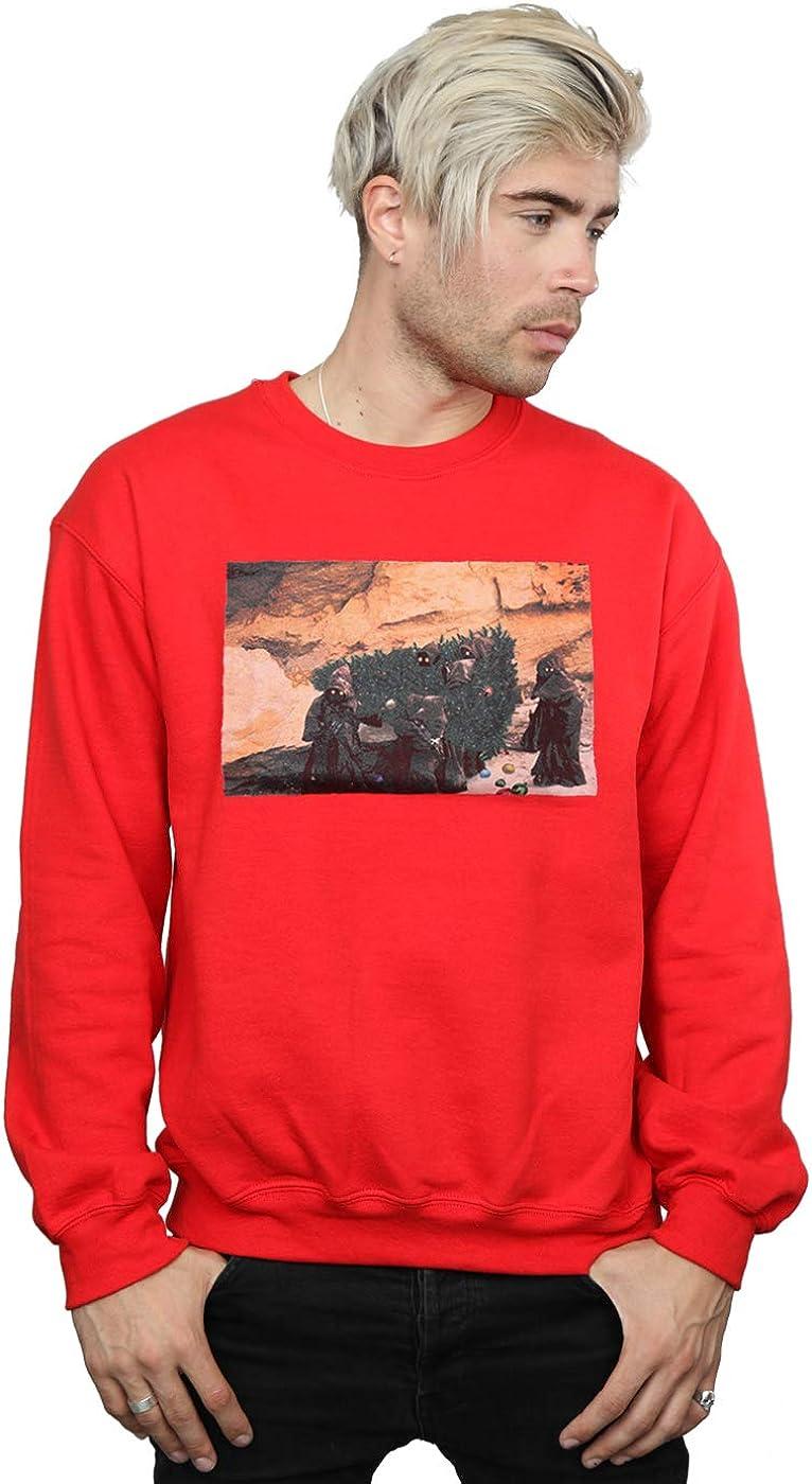 Star Wars Men's Christmas Tree Jawas Sweatshirt